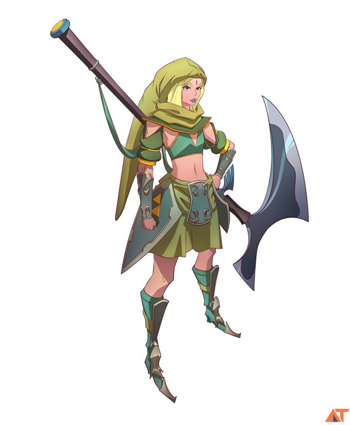 Legend-of-Zelda-Link-Fan-Art-Concept-Illustration-01-Abe-Taraky