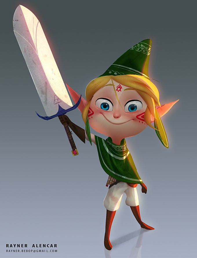 Legend-of-Zelda-Link-Fan-Art-Concept-Illustration-01-Rayner-Alencar