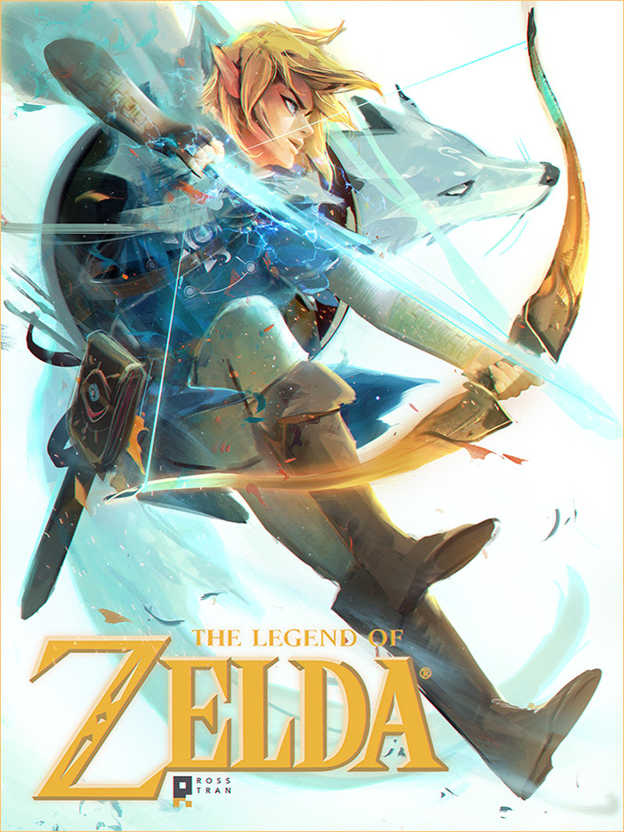 The Legend of Zelda Inspired Concept Art and Illustrations ...