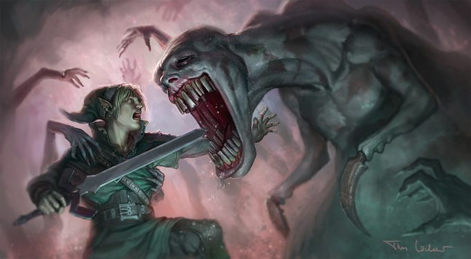 Legend-of-Zelda-Link-Fan-Art-Concept-Illustration-01-Tim-Lochner-dead-hand-zelda
