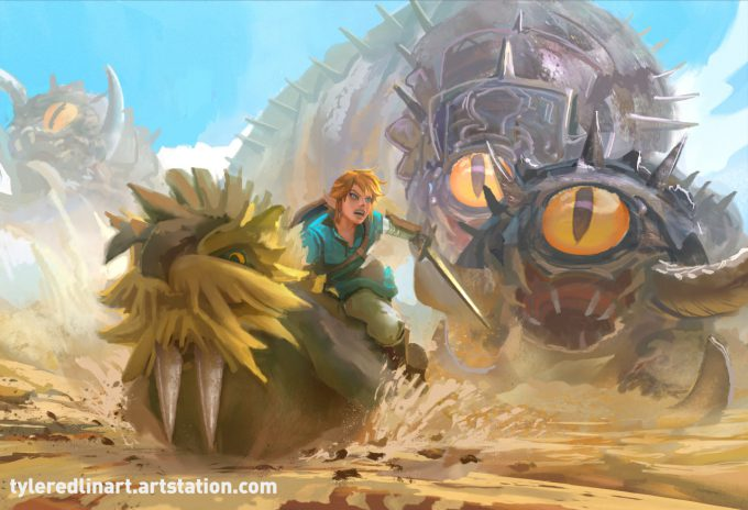 Legend-of-Zelda-Link-Fan-Art-Concept-Illustration-01-Tyler-Edlin