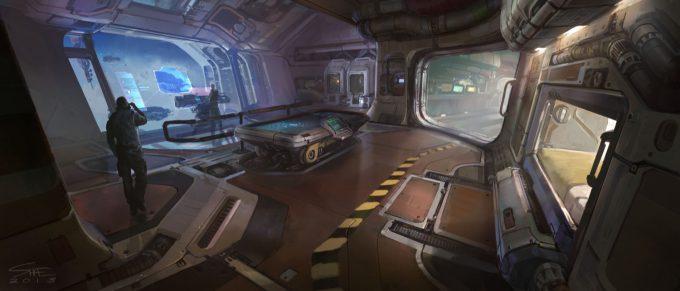 Shae-Shatz-Concept-Art-Halo-5-baracks-to-transition-room