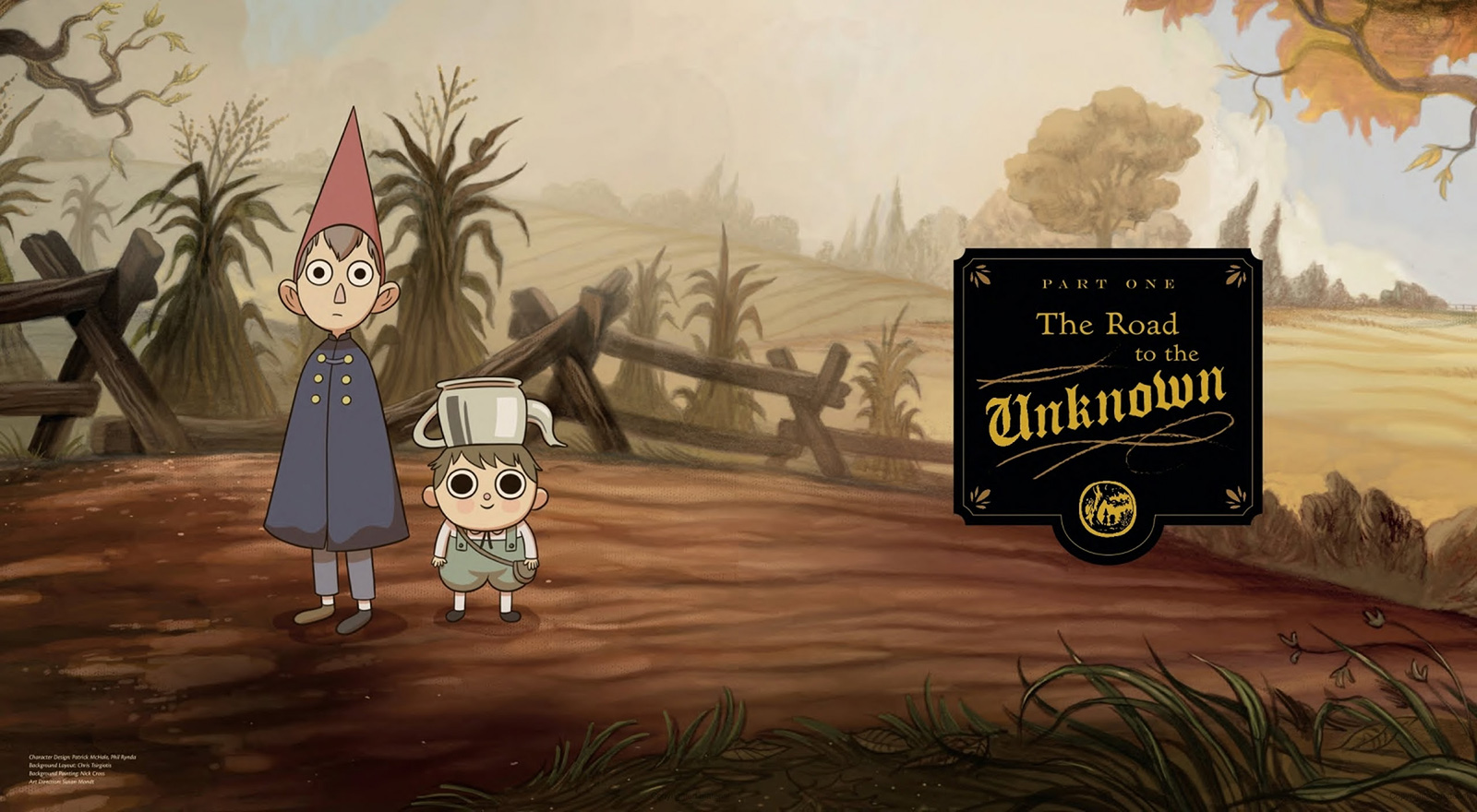 the art of over the garden wall concept art world