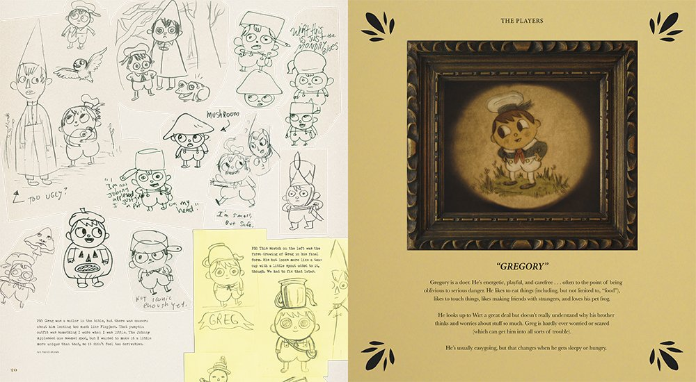 The Art of Over the Garden Wall | Concept Art World