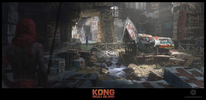 Kong: Skull Island Concept Art by Dennis Chan | Concept