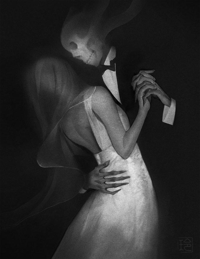 reiko murakami art illustration danse