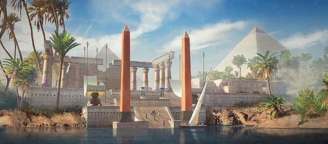 Assassins Creed Origins Concept Art Gilles Beloeil 0 M03