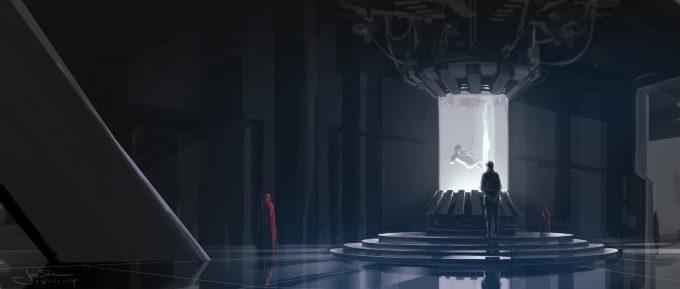 Star Wars Rogue One Concept Art Jake Lunt Darth Vader 02 Lair