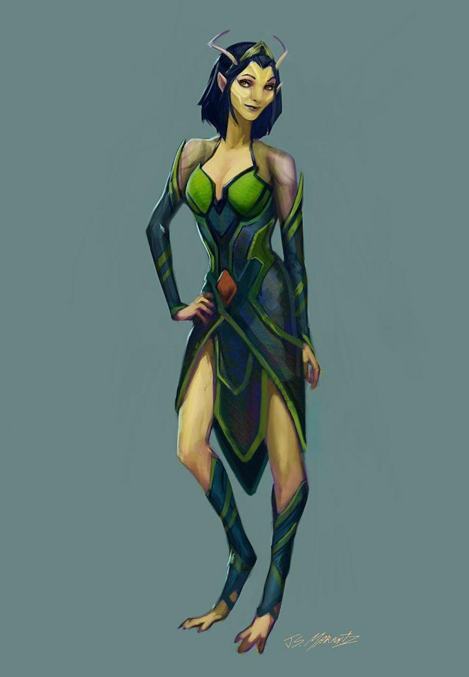 guardians of the galaxy vol 2 concept art JSM Mantis 2