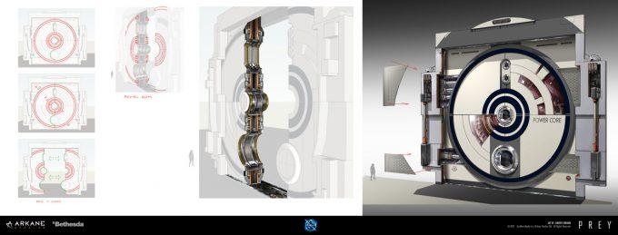 Prey Game 2017 Concept Art Arkane Studios Bethesda DS 05