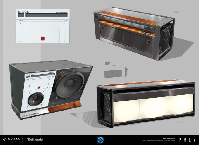 Prey Game 2017 Concept Art Arkane Studios Bethesda DS 25