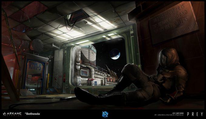 Prey Game 2017 Concept Art Arkane Studios Bethesda DS 53