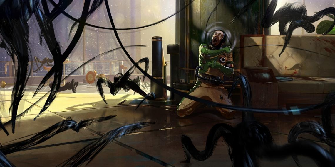 Prey Game 2017 Concept Art Arkane Studios Bethesda DS M01