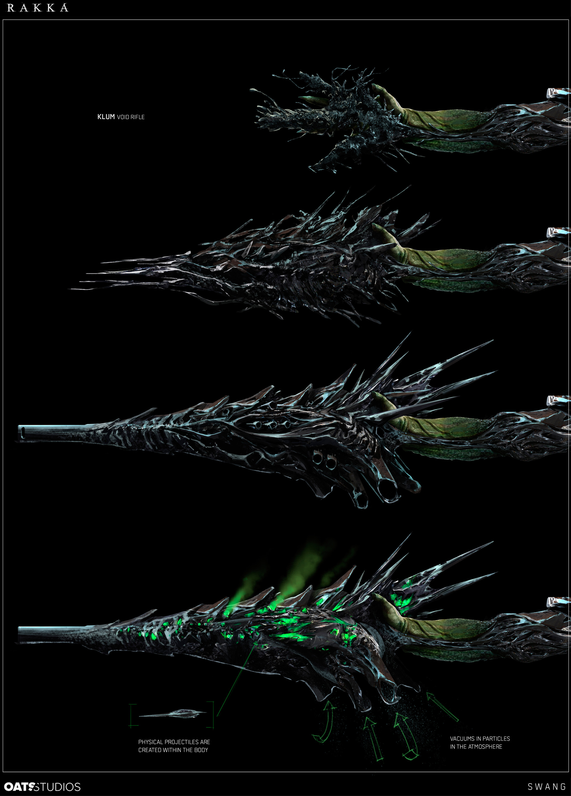 Rakka Concept Art By Steve Wang World