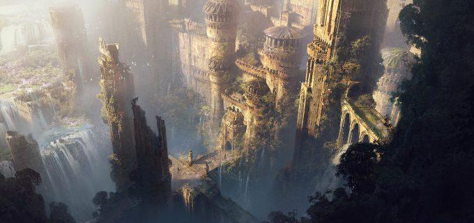 ivan laliashvili concept art final ruins2