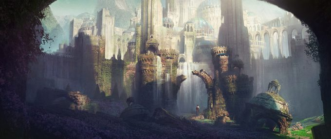 ivan laliashvili concept art ruins 2