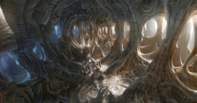 SpellForce 3 Concept Art Raphael Lubke archfire realm keyart1 flat7 5