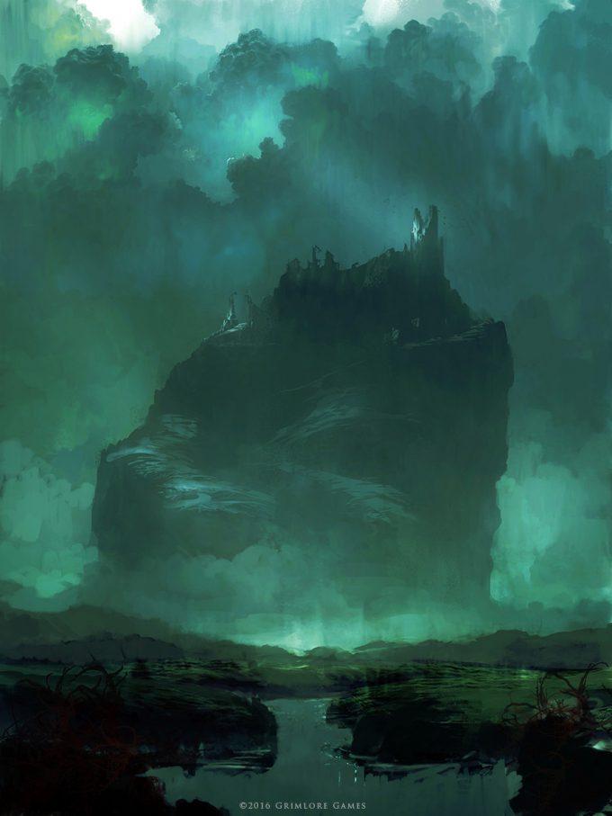 SpellForce 3 Concept Art Raphael Lubke enviroment the eye