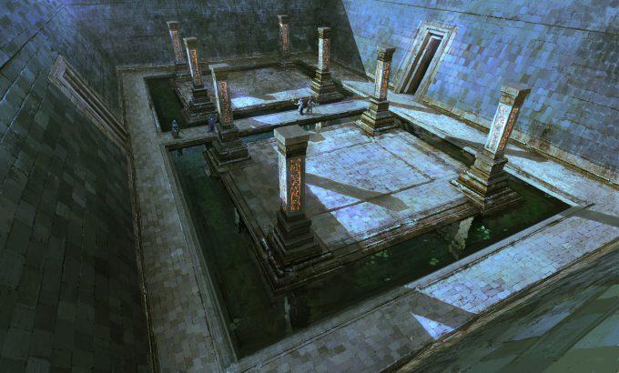SpellForce 3 Concept Art Raphael Lubke hibernian temple 1 2