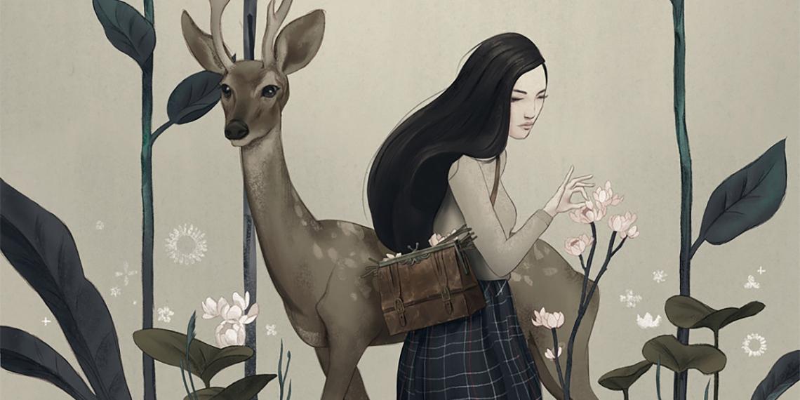 Zach Montoya art illustration Botanist M01