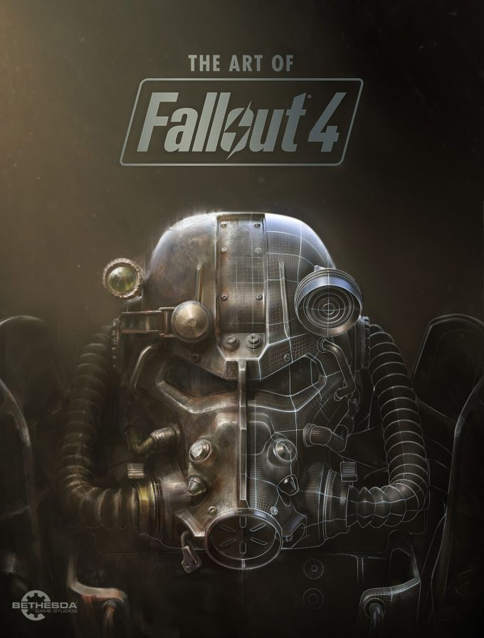Fallout 4 art book cover concept art IN