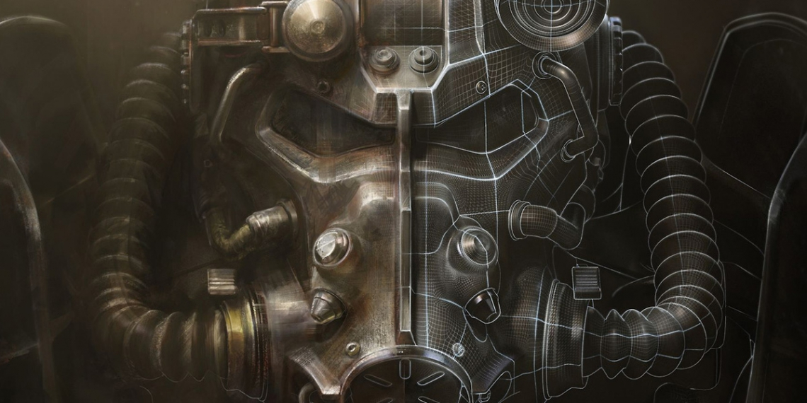 Fallout 4 art book cover concept art IN M01