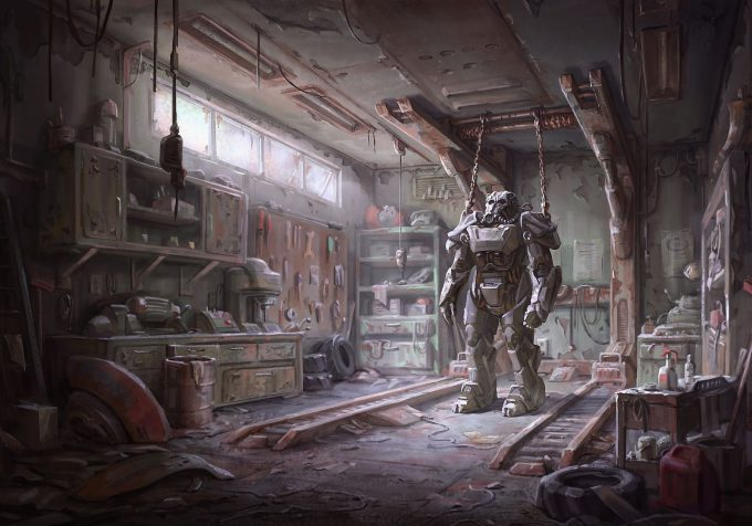 Fallout 4 concept art IN