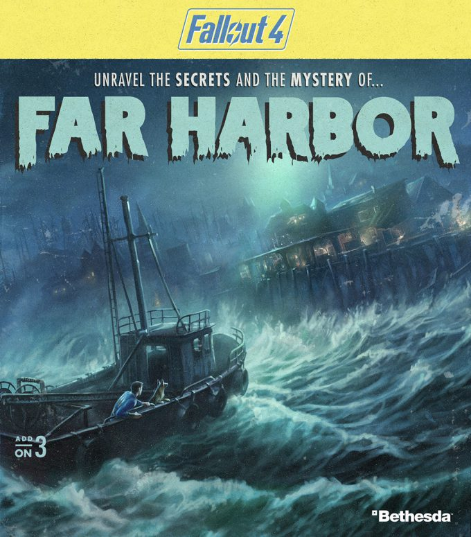 Fallout 4 concept art IN add on pack far harbor