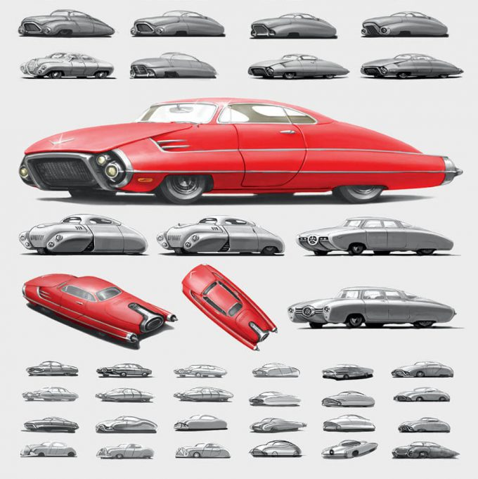 Fallout 4 concept art IN vehicles 02