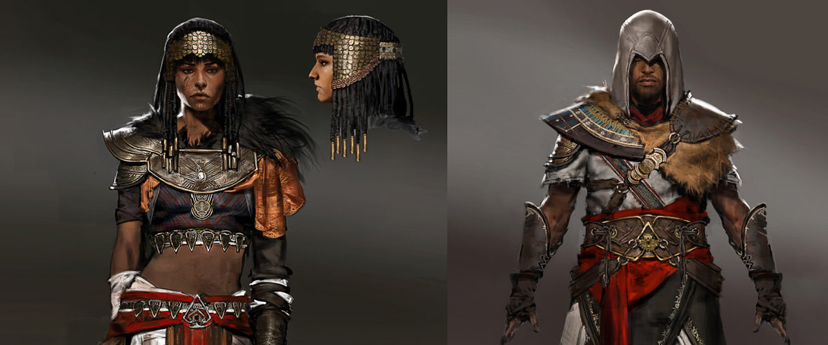 Assassin S Creed Origins Concept Art By Jeff Simpson Concept Art