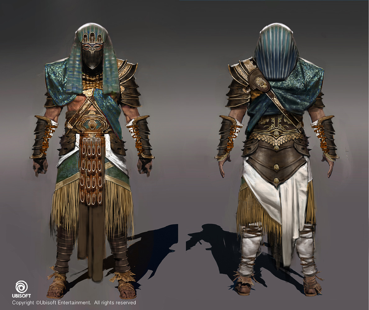 Assassinu0026#39;s Creed Origins Concept Art by Jeff Simpson | Concept Art World