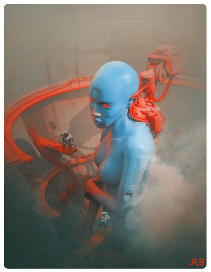 Blade Runner Inspired Concept Art and Illustrations I ...