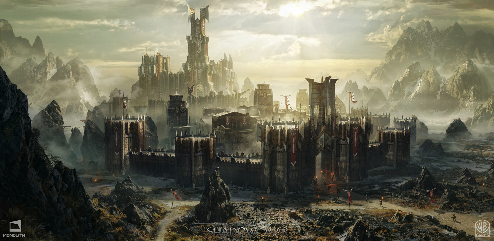 Middle Earth Shadow Of War Concept Art By George Rushing