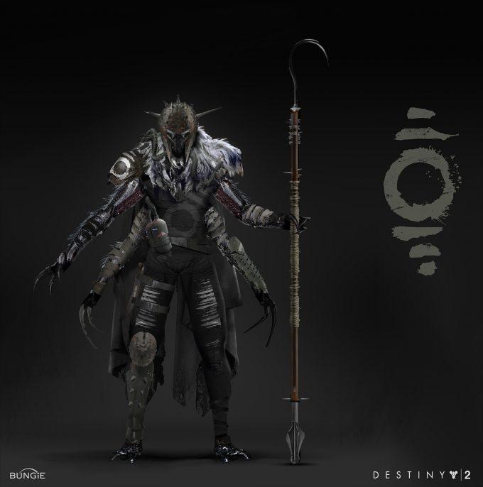 destiny 2 concept art adrian majkrzak fallen001