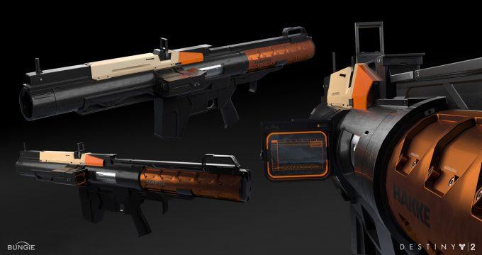 destiny 2 concept art adrian majkrzak hakke launcher