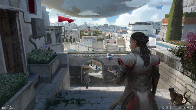 destiny 2 concept art adrian majkrzak postcard