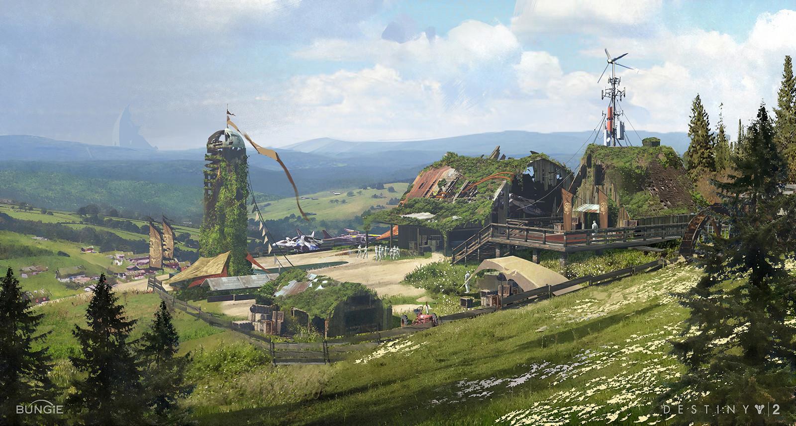Destiny Two Concept Art