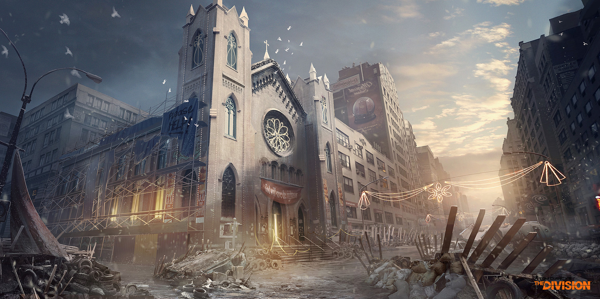 Florian De Gesincourt Concept Art The Division Church 01 G