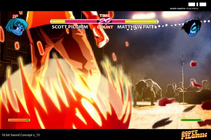 Scott Pilgrim vs the World Concept Art Philippe Gaulier 16 Bit Sword 15