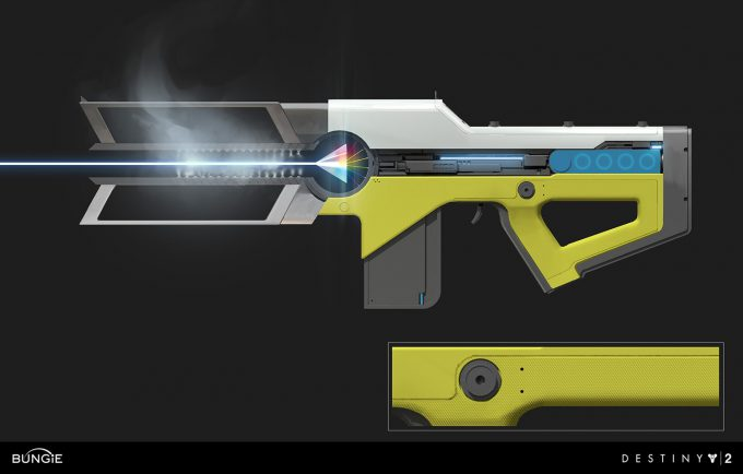 Prometheus Lens Trace Rifle Concept Art