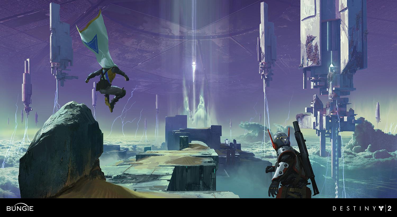 Destiny 2: Curse of Osiris Concept Art by Ryan Gitter | Concept Art