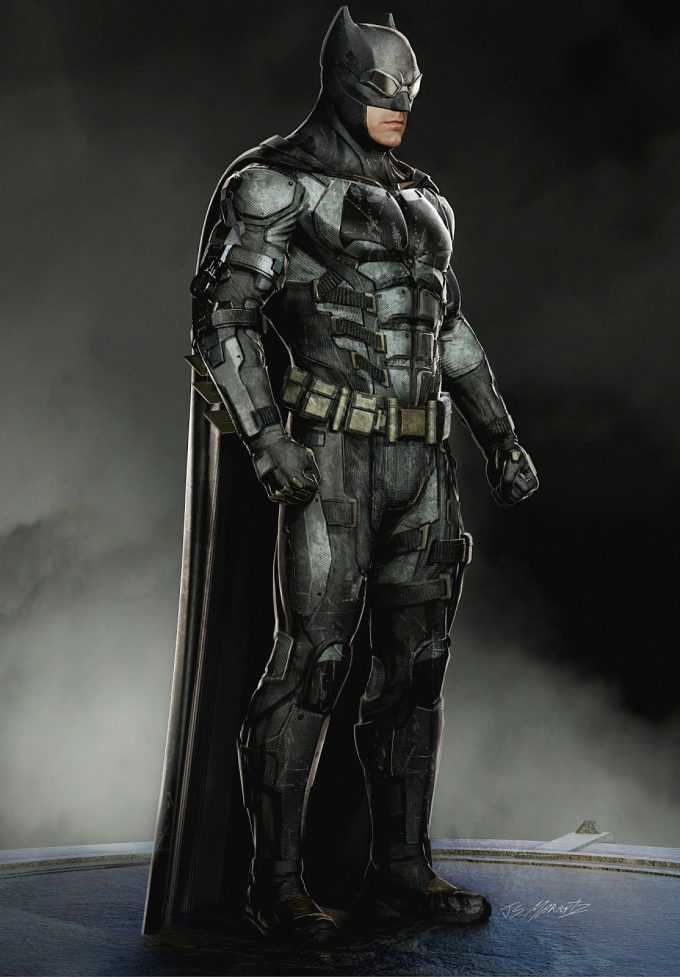 Justice League Concept Art Jerad Marantz Batman 01 Tech