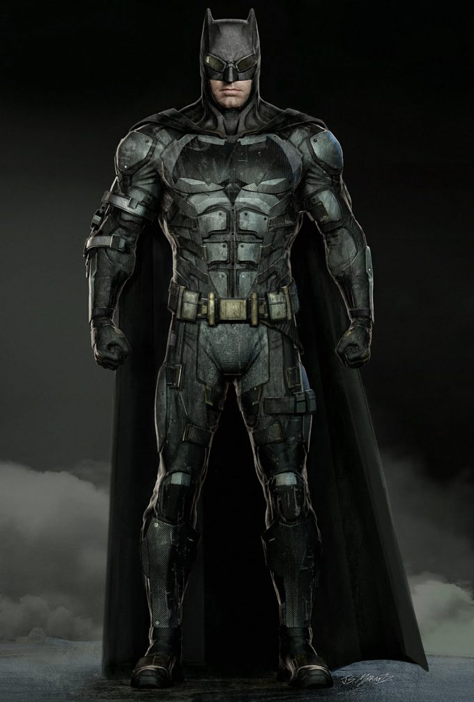 Justice League Concept Art Jerad Marantz Batman 02