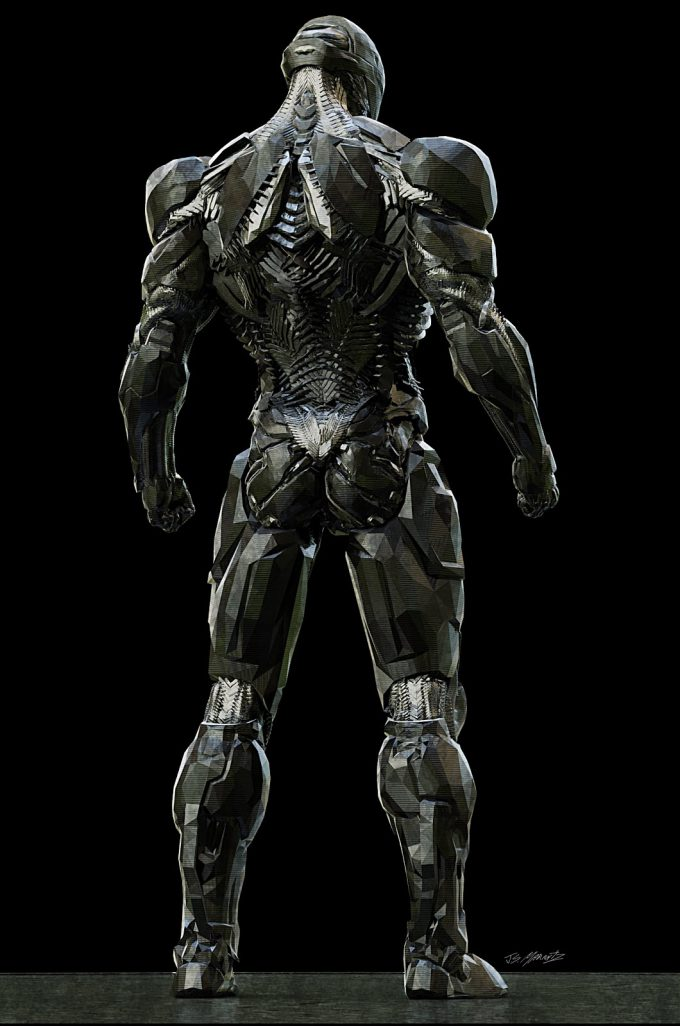 Justice League Concept Art Jerad Marantz Cyborg Cyborg Pass 4 Full back 01