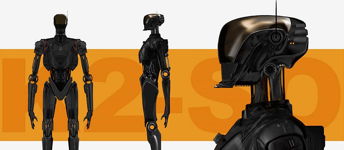 Star Wars Rogue One Concept Art Ivan Manzella 03 K 2SO M01