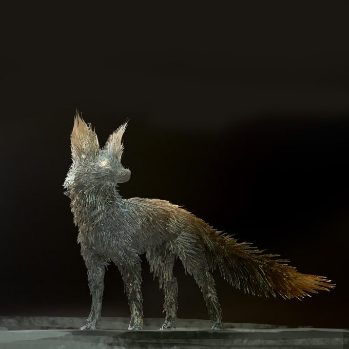 Star Wars The Last Jedi concept art justin sweet crystal foxes 03