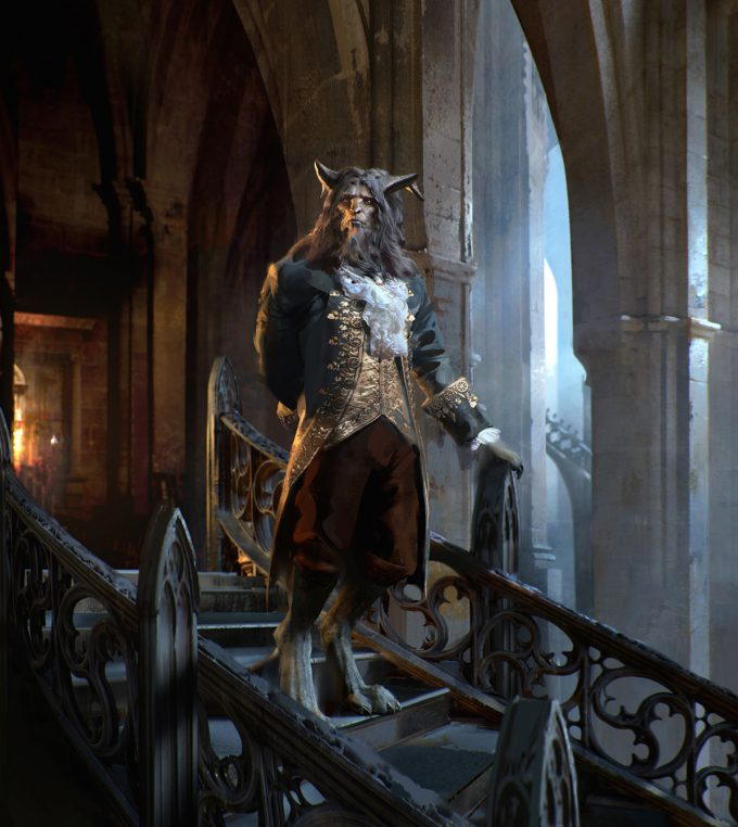 Beauty and the Beast Concept Art Disney Jama Jurabaev babt beast v001