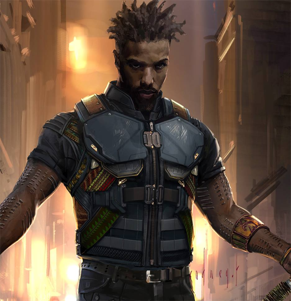 Black panther concept art by rodney fuentebella concept for Male wallpaper designs