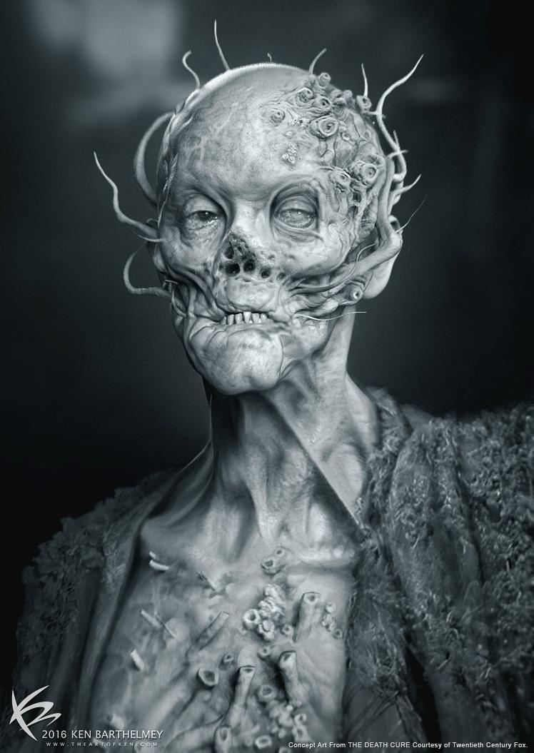 Maze Runner: The Death Cure Concept Art by Ken Barthelmey ...
