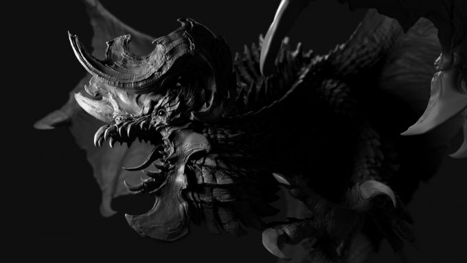 jason martin character art dragon old 01